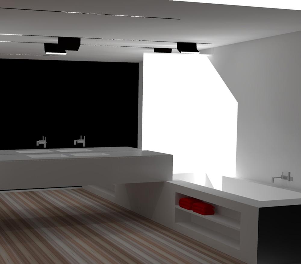 Rotterdam sur - Interieur badkamer ...