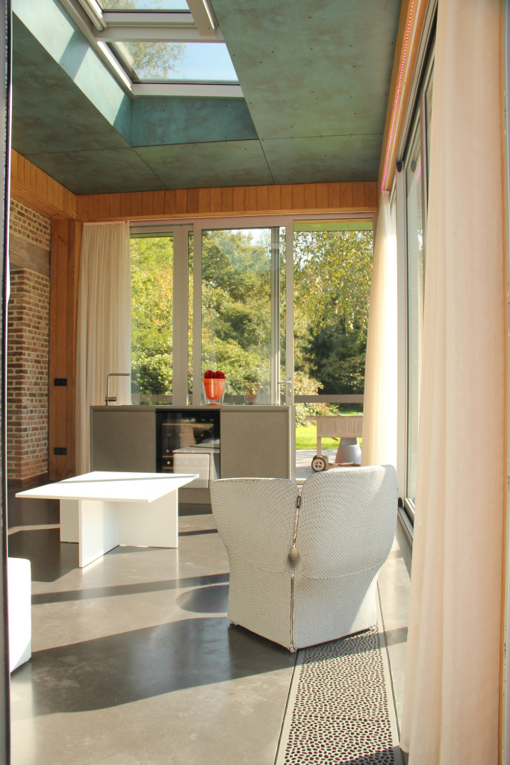 Landhuis wintertuin keuken put interieur for Keuken landhuis