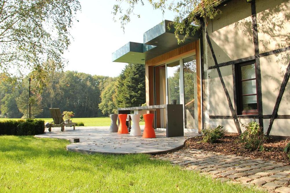 Landhuis wintertuin keuken | Put Interieur: www.putinterieur.be/interieur-renovatie/landhuis_wintertuin_keuken