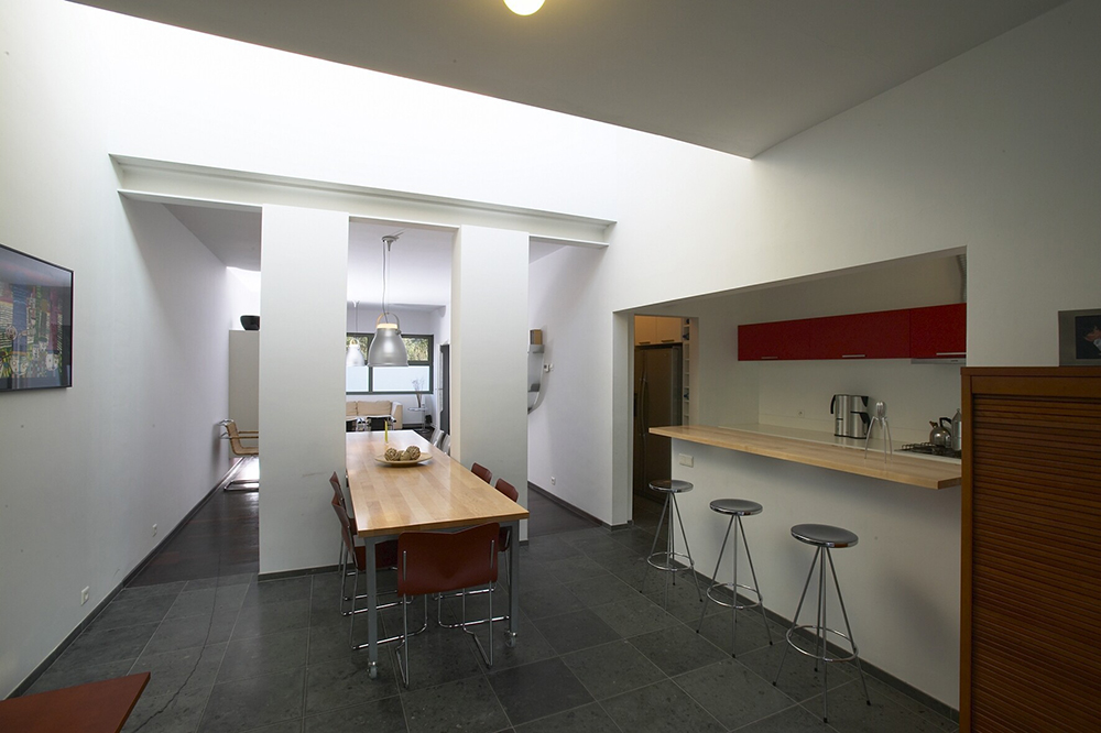 rijwoning in hasselt put interieur